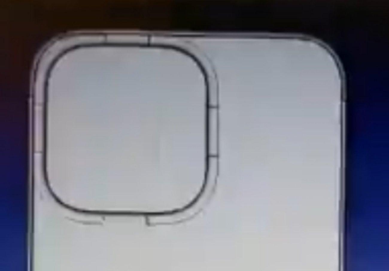 iPhone 13新外形展示:对角线双摄排布、镜头更大插图