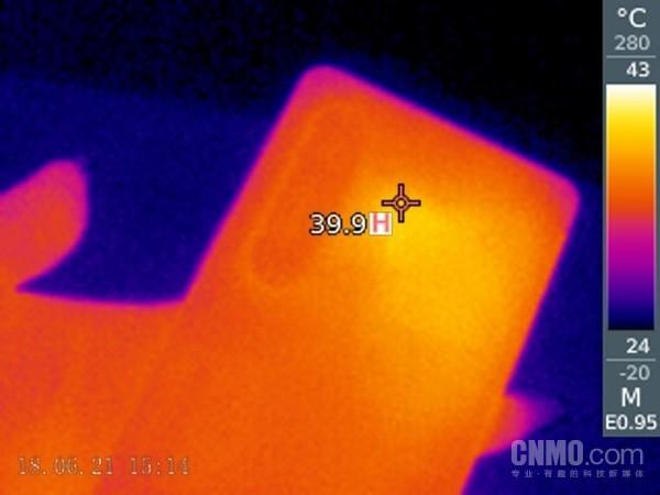 索尼Xperia 1 III机身温度