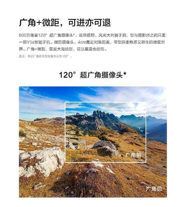 智慧三摄拍出你的美,vivo Y5s正式开售插图(6)